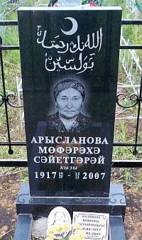 Памятники на могилу в Уфе - изготовление и установка